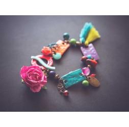 Multicolour Bracelet, Bohemian Chic
