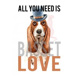 """Carte """"All you need is Love"""" and..."""